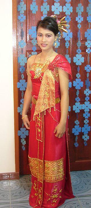 Sabaithai Massage, Sabaithai oder Sabai eine Traditioneller Thai Kleidung sabai dii