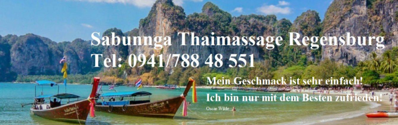 #Sabunnga Thai Massage Regensburg