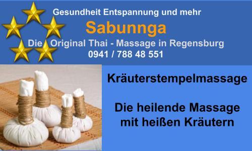 Kräuterstempelmassage - heilende Massage mit heissen Kräutern